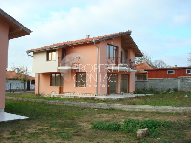 Two neighboring houses in the village sometimes 18 km from Sunny Beach resort