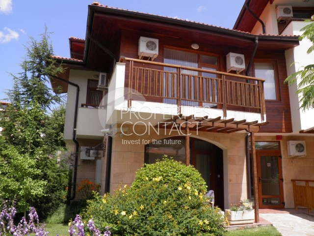 "Resale on the first line of the southern coast of Bulgaria - apartment in the ""Garden of Eden"", Elenite"