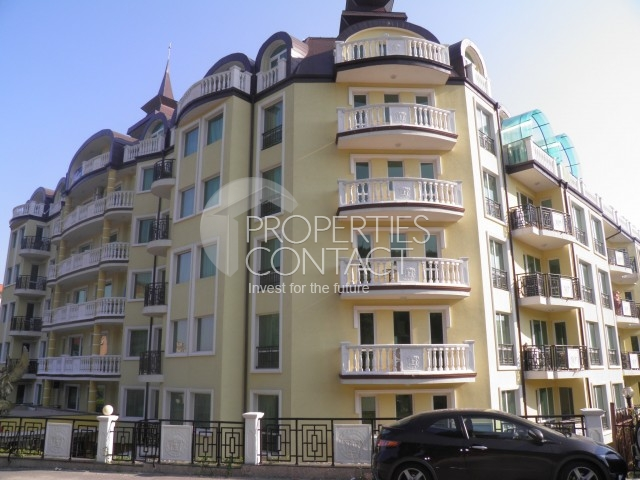 Luxury apartments, front line in Elenite, Southern Black Sea coast, Bulgaria