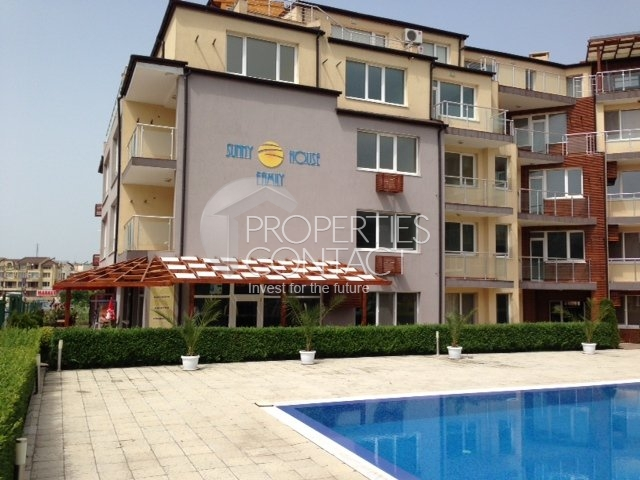 Аpartment complex on the second line in Nessebar