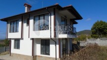 For sale a new two-storey house in Bulgaria, 2 km. from the sea and Sunny Beach, in the villa zone Kosharitsa