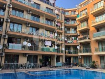Large, furnished studio for sale  in Sunny Beach, Bulgaria