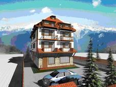 Regulated plot of land with aproject in ski resort Bansko