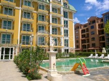 Sale of finished studio with payment in installments in Sunny Beach in Bulgaria