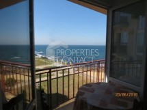 We sell one-bedroom apartment on the first sea line with a wonderful sea view in Ahtopol, Bulgaria