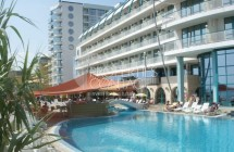 Sale one-bedroom apartment in Bulgaria on the sea front in Golden Sands