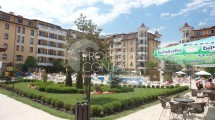 We offer you to buy at a discounted price a furnished one-bedroom apartment with a swimming pool view in the Royal Sun complex,Sunny Beach,Bulgaria
