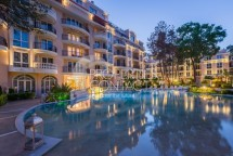 One-bedroom apartment for sale in the luxury complex Venera Palace in Sunny Beach in Bulgaria