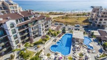 Property on the beach in Bulgaria - one-bedroom apartment for sale in Pomorie
