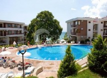 Secondary properties for sale in Bulgaria in the complex Mesambria Fort Beach - one bedroom apartment in Elenite