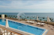 One-bedroom apartment for sale with frontal sea view on the first line, Saint Vlas, Bulgaria