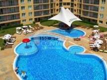 One-room apartment for sale in Bulgaria in the complex Polo Resort, in Sunny Beach