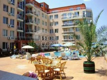 We offer for sale a one-bedroom apartment in Bulgaria in Sunny Beach in the complex Balkan Breeze 2