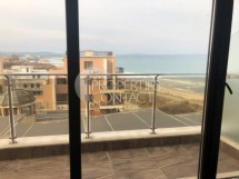 Large two-bedroom apartment for sale with frontal sea view on the first line in Pomorie,Bulgaria