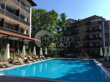 Reasonable resale of a furnished studio in Green Paradise complex, Primorsko,Bulgaria