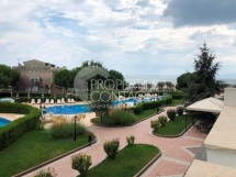 For sale luxury apartment with sea view in a luxury complex on the first line in the town of Pomorie, Bulgaria