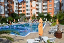 Furnished two-bedroom maisonette apartment for sale  in Sea Diamond Complex, near Cacao Beach, Sunny Beach