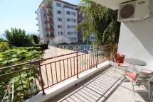 Resale in Bulgaria on the first line of the sea. One-room apartment for sale in Ravda