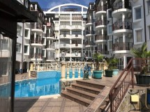 Studio walking distance to the sea in the city of St. Vlas. Property for sale in Bulgaria in Vista Del Mar 2 complex