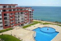 Resale on the southern coast of Bulgaria - sale of a one-bedroom apartment in the town of Sveti Vlas with sea view