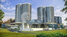 Apartments with parking plots for sale in the new complex Central Park, Burgas, Bulgaria