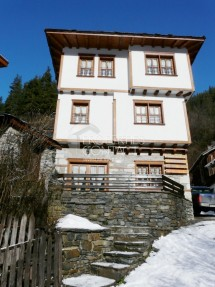 House in the village of  Shiroka  Laka, the region of Smolyan, Rhodopes
