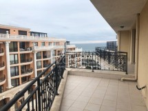 For sale - large one bedroom apartment with panoramic sea view in Saint Vlas,Bulgaria