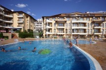 For sale one-bedroom apartment in Bulgaria in the town of Sveti Vlas, 100 meters from the sea