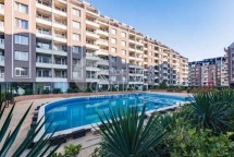 Three-bedroom apartment with sea view for sale in Perla complex, Burgas, Bulgaria