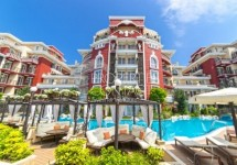 One-bedroom apartment for sale in a luxury complex, Sunny Beach, Bulgaria
