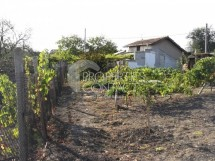 Land with project and permission to build a house in the village of Luqa, about 15 km away from Bourgas