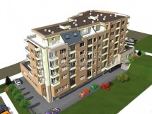 For sale one-bedroom apartments in a new building in Meden Rudnik quarter, Burgas, Bulgaria