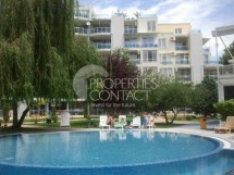For sale a spacious two-bedroom apartment in Bulgaria on the first line of the sea in Ravda