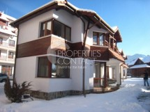Apartments and houses in the complex The Bear near the ski resort of Borovets