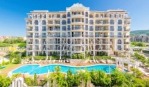 Selling a luxury two-bedroom apartment with sea view in a premium complex, Saint Vlas, Bulgaria