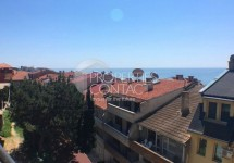 For sale a huge studio with sea view in a house without support fee, Saint Vlas, Bulgaria