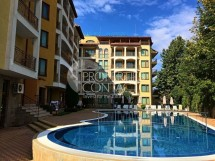 Resale of two-bedroom apartment for sale in Bulgaria in the complex Golden Dreams, on the sea front, in Sunny Beach