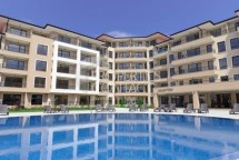 New project in Sveti Vlas - apartments in an elegant complex on the second line of the sea and beach