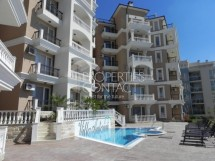 Furnished one bedroom with perfect sea view for sale in Villa Antorini Complex, Saint Vlas,Bulgaria