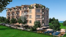 Apartments for sale in a new, luxury building in Bulgaria, on the sea line in Ahtopol