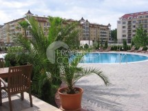 One-room apartment for sale with furniture in Bulgaria in Sunny Beach