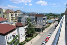 Studio for sale in Bulgaria in Sunny Beach with sea view in Rainbow 1
