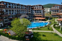 Excellent two bedroom apartment at a promotional price with bonus underground parking in Olymp Complex, in Saint Vlas,Bulgaria