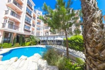For sale stylish one-bedroom apartment in Bulgaria in Sunny Beach in a beautiful boutique complex