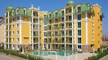 Sale of finished two-bedroom apartment with payment in installments in Sunny Beach in Bulgaria