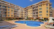 Spacious one-bedroom apartment for sale in Sunny Day 2 complex, Sunny Beach, Bulgaria