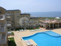 Two bedroom apartment - maisonette with sea views on the first line in Bulgaria, Ravda