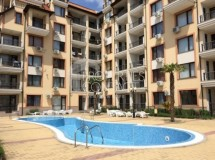 For sale furnished one-bedroom apartment in the complex Rainbow in Sveti Vlas, Bulgaria