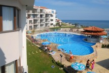 Property in Bulgaria in Saint Vlas. For sale one bedroom apartment with sea view in the complex Diamond