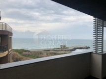 Properties for sale in Pomorie,Bulgaria. Front sea view one bedroom apartment on the beach